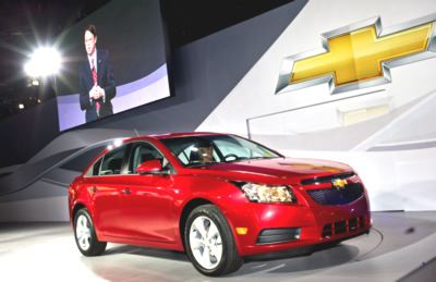 u s production chevy cruze unveiled road reality. Black Bedroom Furniture Sets. Home Design Ideas