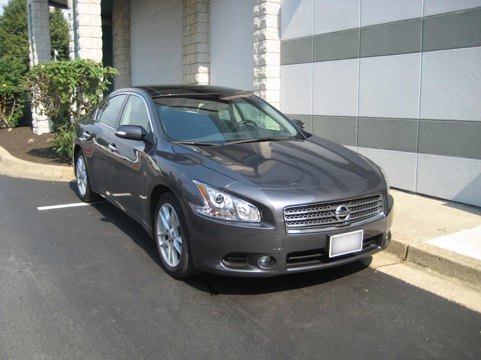 Review 2010 Nissan Maxima Sv W Premium And Tech Packages