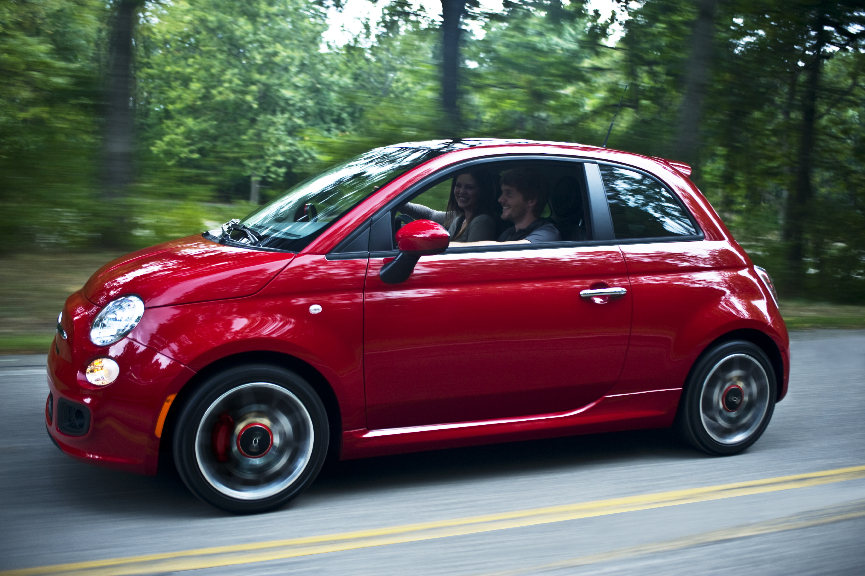 New Fiat 500 Sport (North American Model)