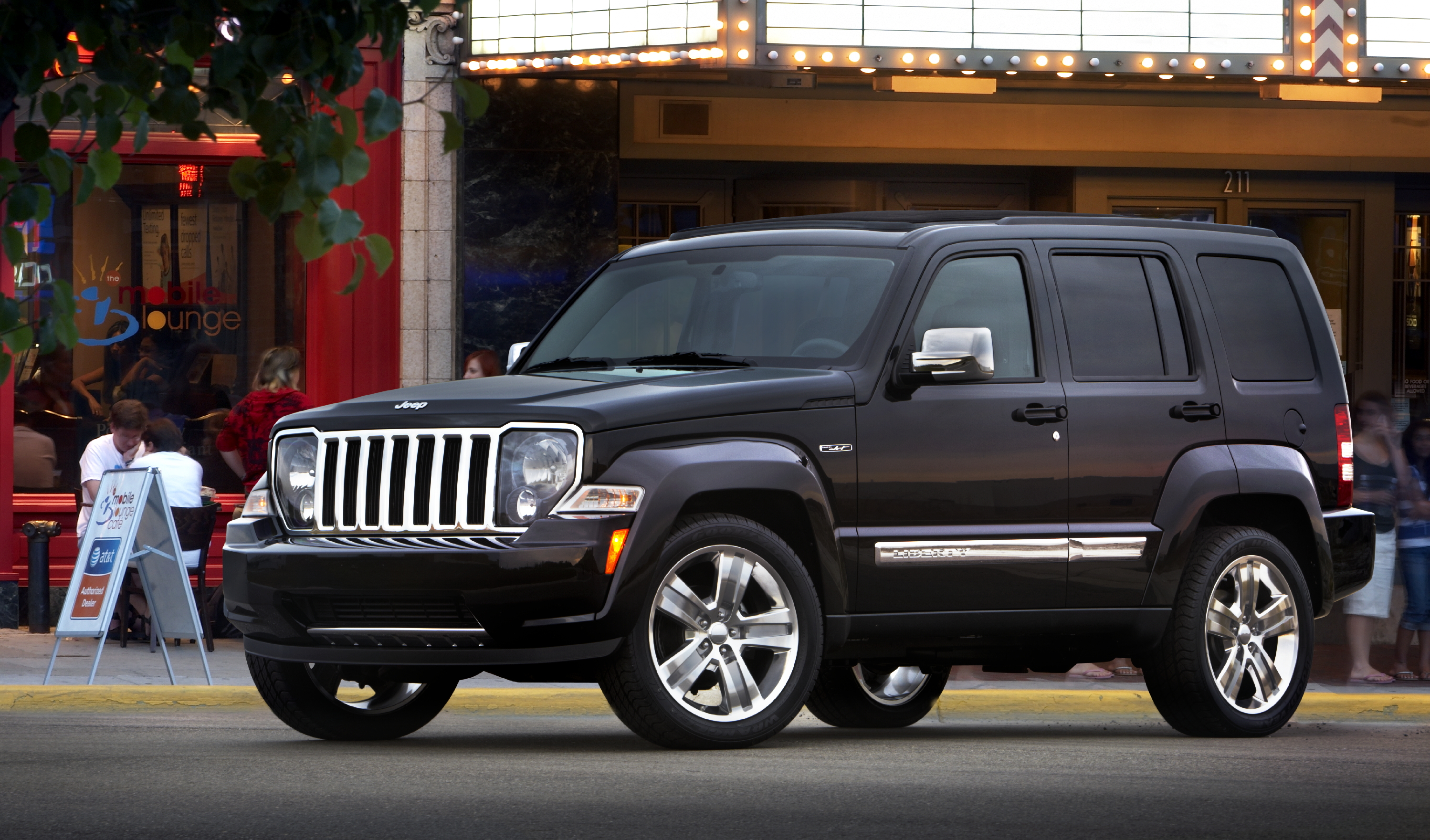 Jeep Liberty Jet Edition. Show Press Release