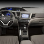 2012 Honda Civic EX-L Sedan with navigation interior