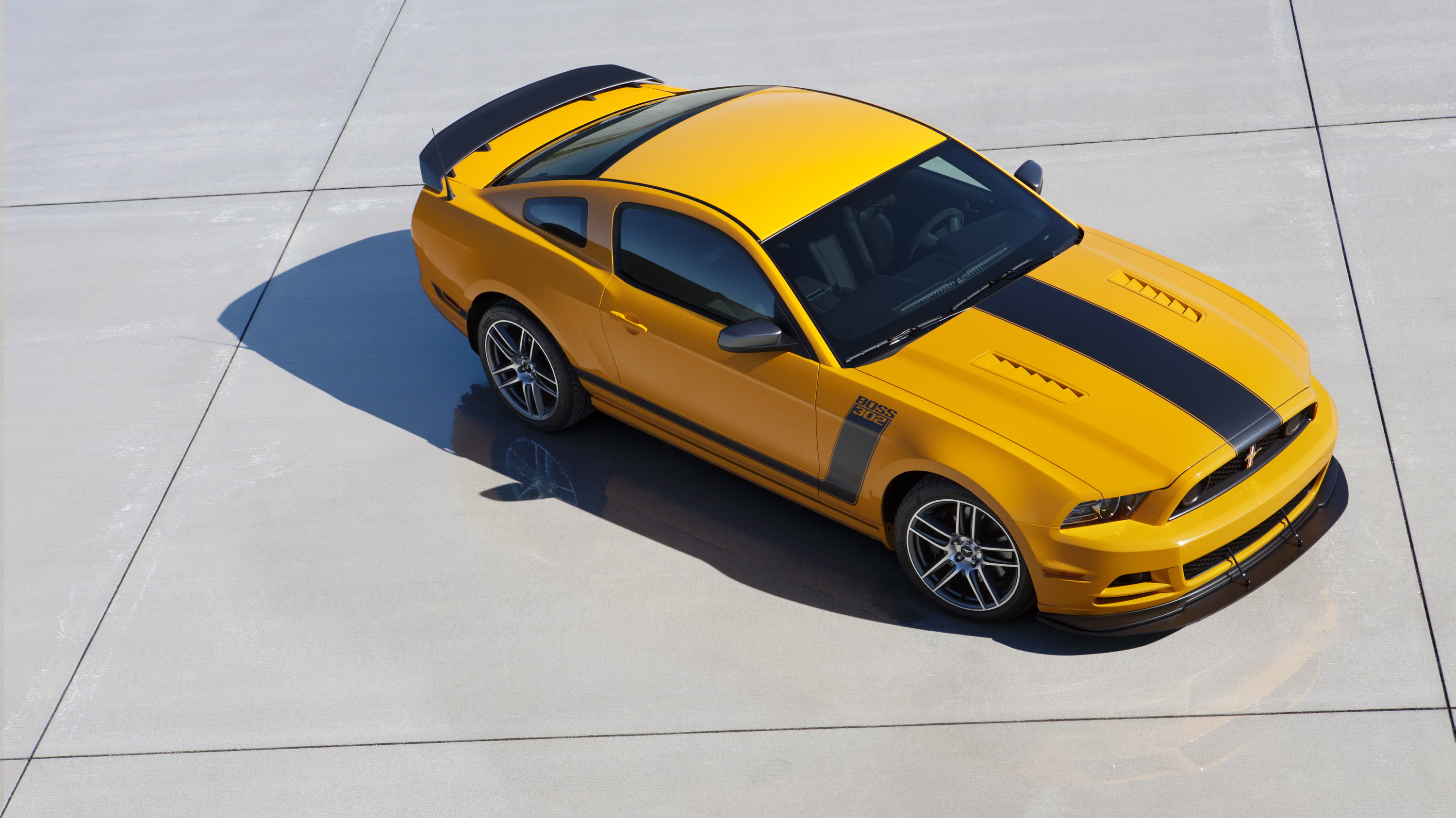 Show press release ford mustang boss 302