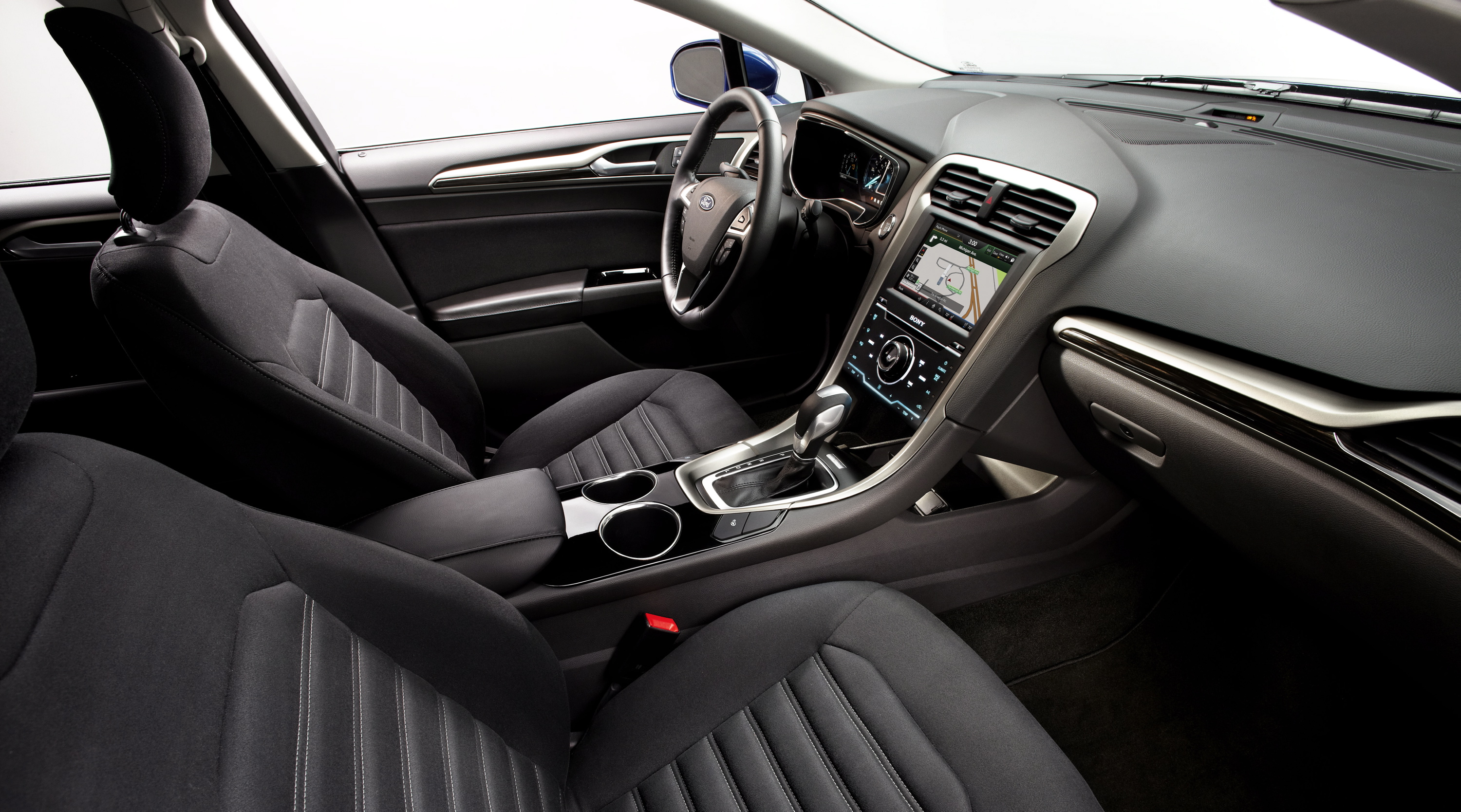 automatic cars cockpit fusion first ford motor interior trend test ecoboost