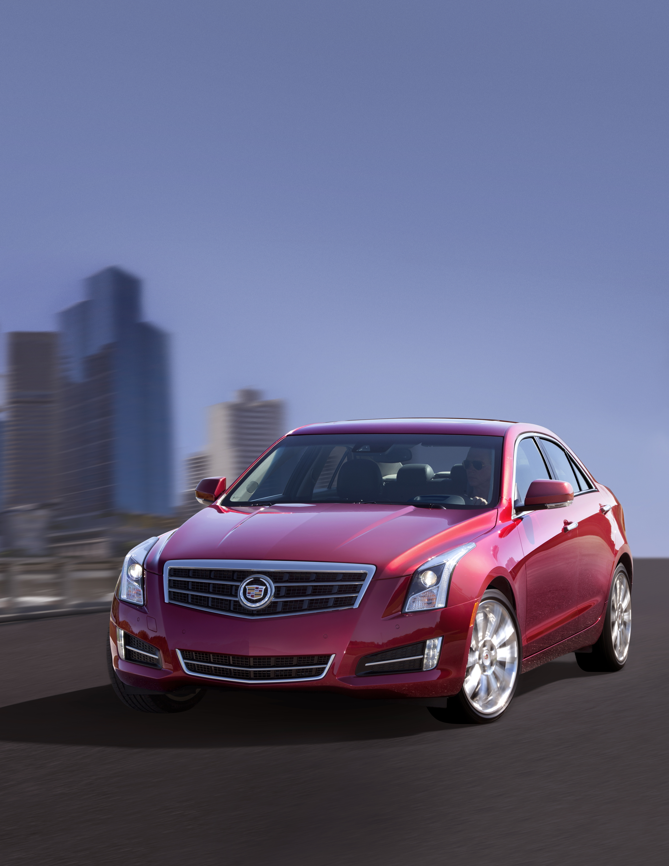 detroit 2012 gm announces 2013 cadillac ats road reality. Black Bedroom Furniture Sets. Home Design Ideas