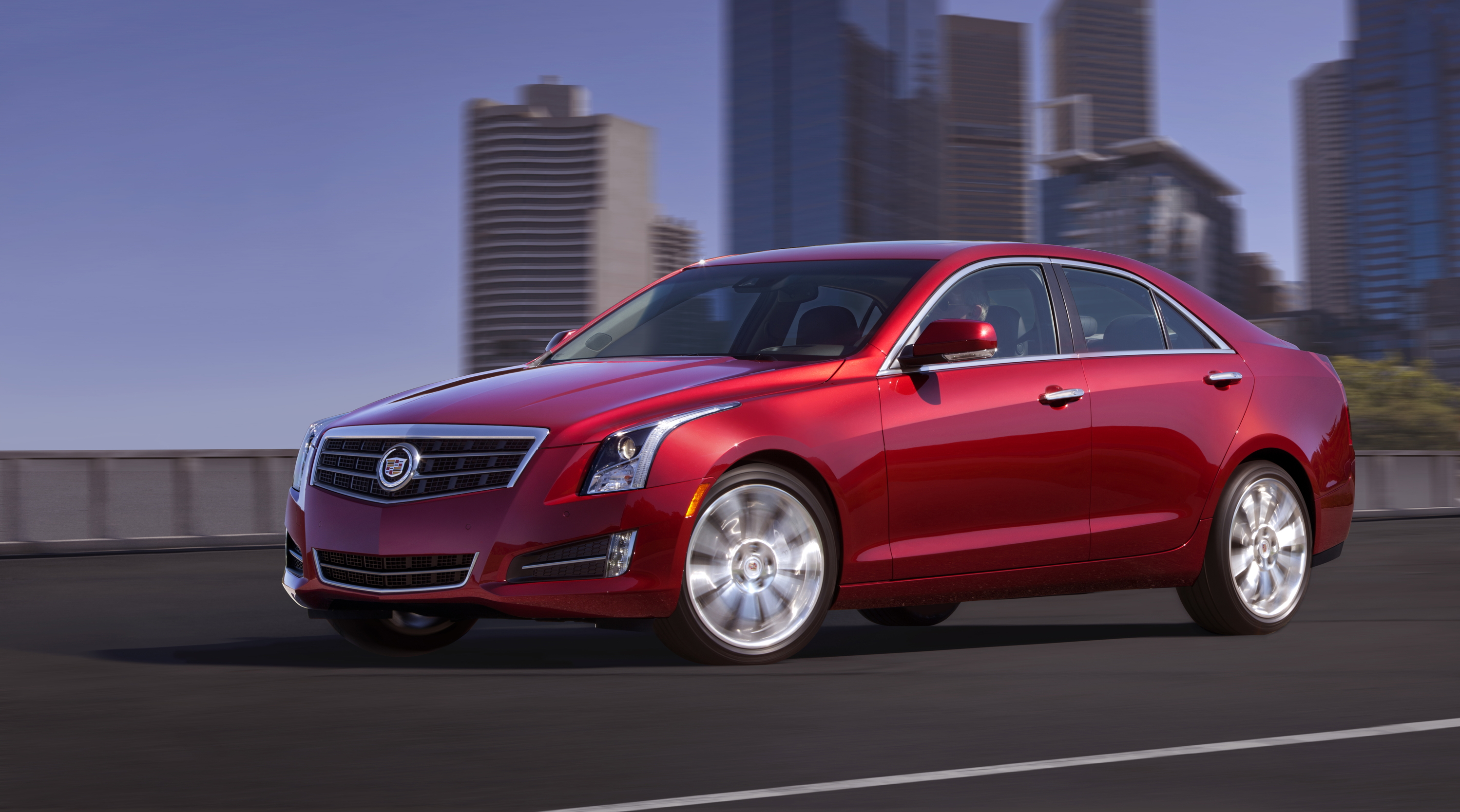 Detroit 2012 Gm Announces 2013 Cadillac Ats 171 Road Reality