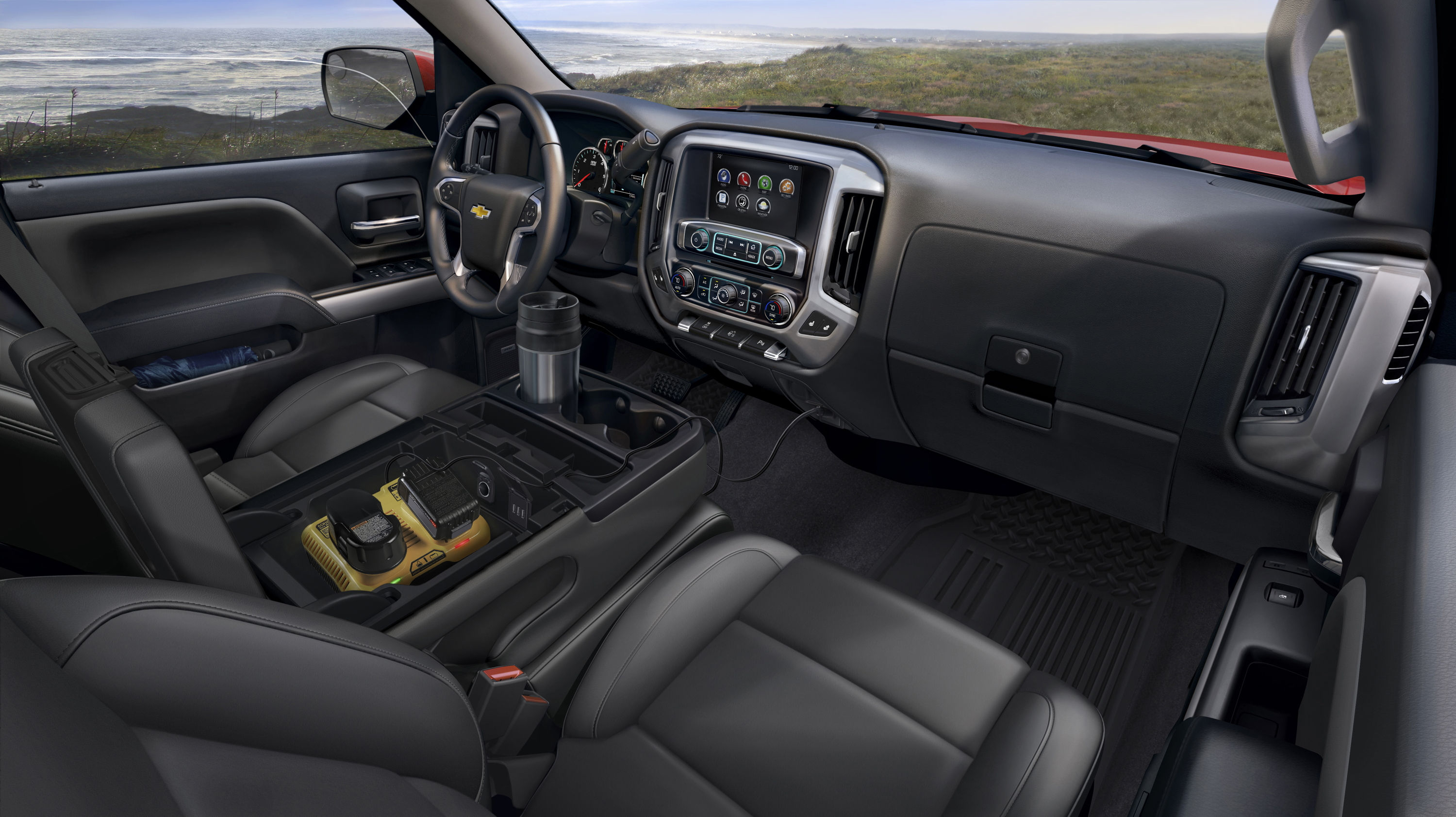 Chevy Silverado Interior Autos Post