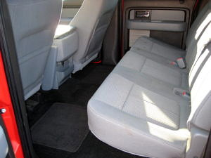2012 Ford F-150 XLT Back Seat 2