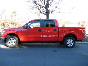 2012 Ford F-150 XLT Driver's Side