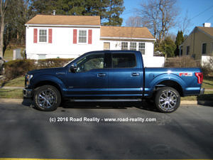 2015 Ford F-150 Drivers Side