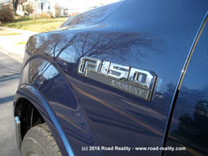 2015 Ford F-150 Fender Logo