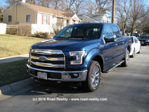 2015 Ford F-150 Front 1