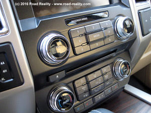 2015 Ford F-150 HVAC and Radio Controls