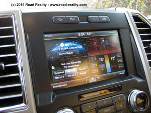 2015 Ford F-150 Touch Screen
