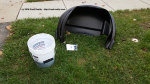 husky-wheel-well-liner-package-contents-and-wash-bucket