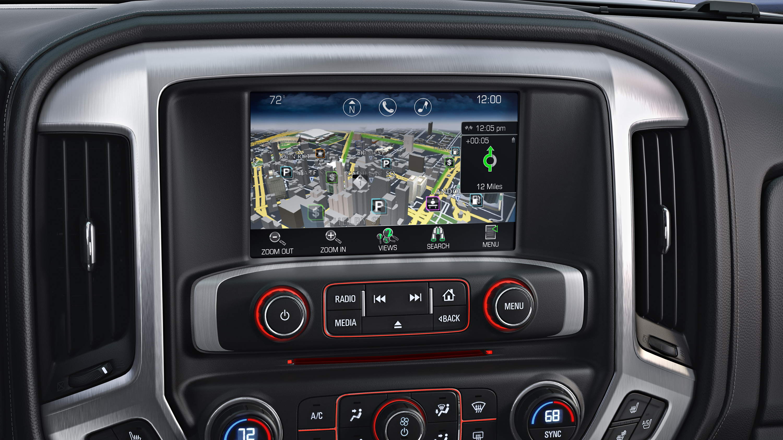 2014 GMC Sierra SLT Interior Color Touch Radio with ...