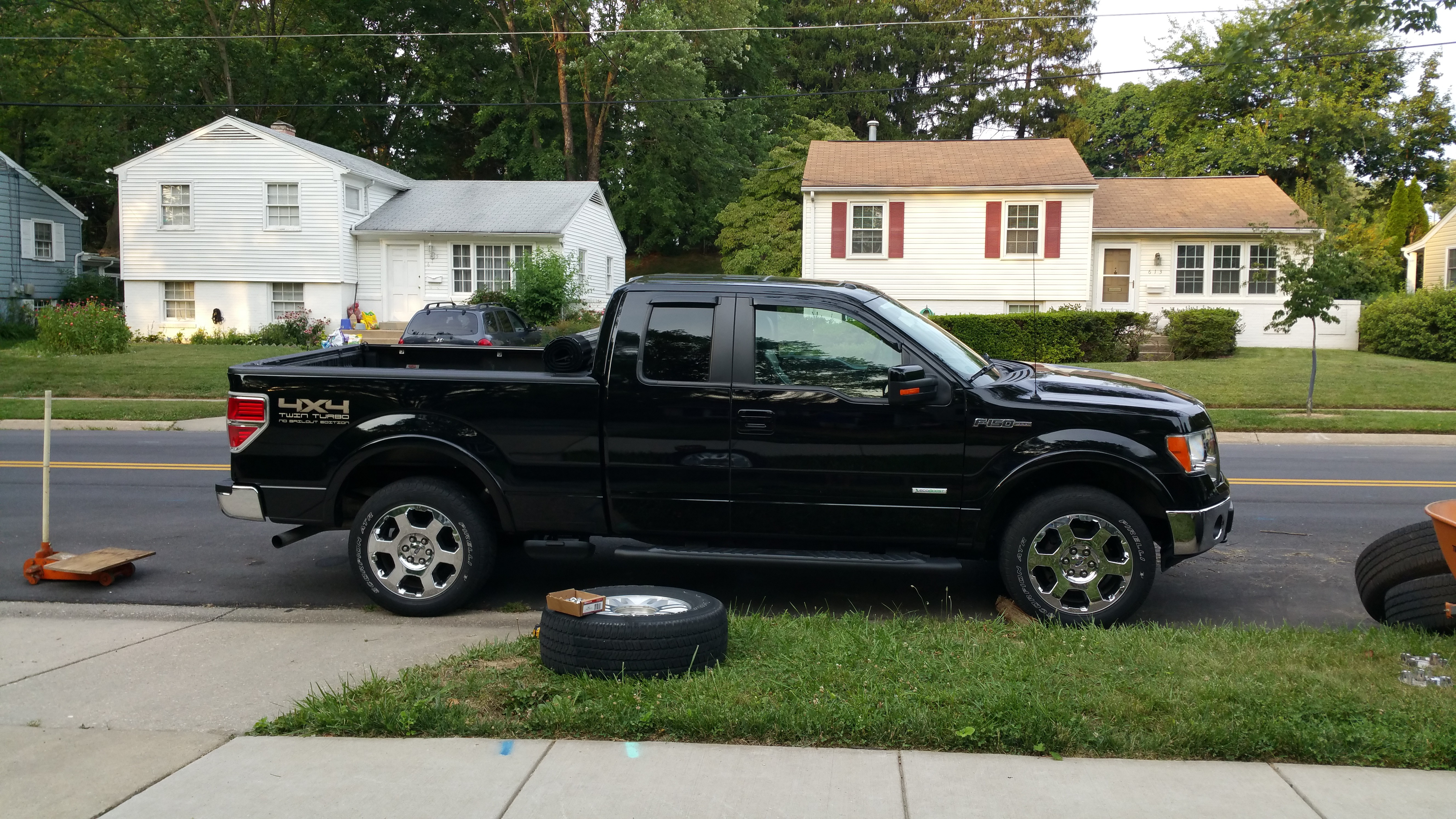 Owner s Log 2011 Ford F 150 Lariat 7 2015 – 10 2015 Road Reality